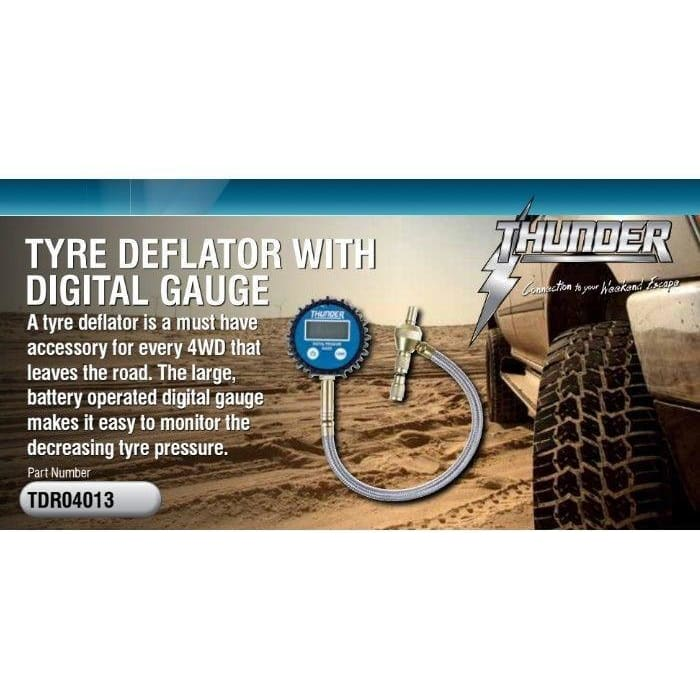 Quick Tyre Deflator Digital - Wa 4x4 Camping And Accessories
