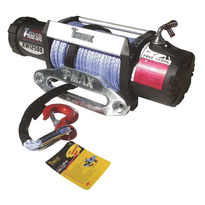 T-Max 12500lb Winch - Wa 4x4 Camping And Accessories