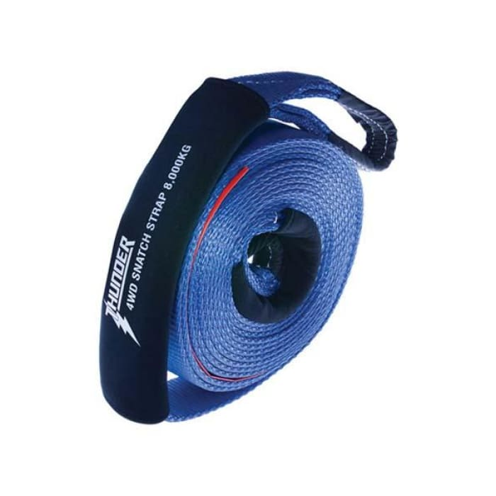 Thunder 8000kg Snatch Strap - Wa 4x4 Camping And Accessories