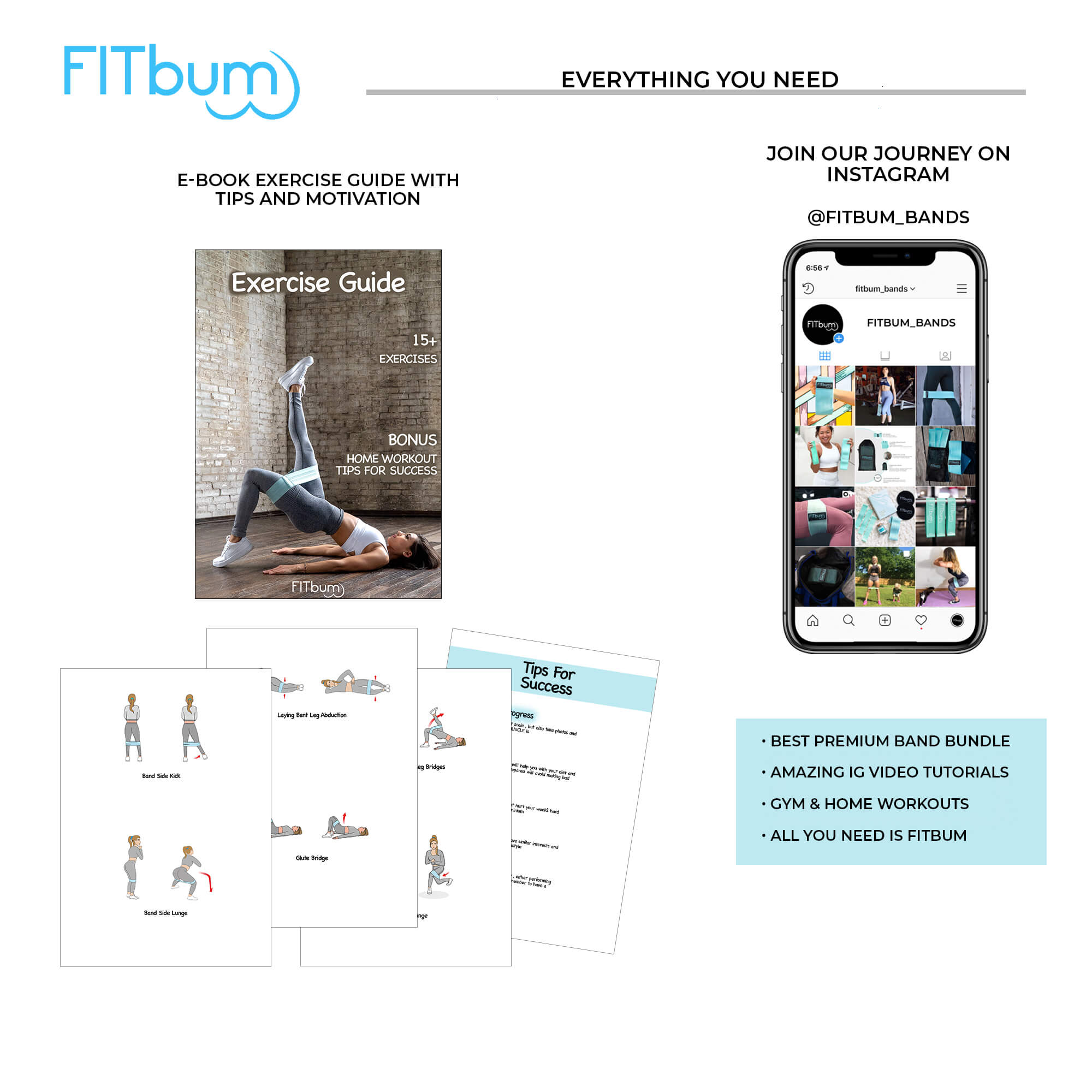 Load image into Gallery viewer, FITBUM™ BLUE BAND BUNDLE