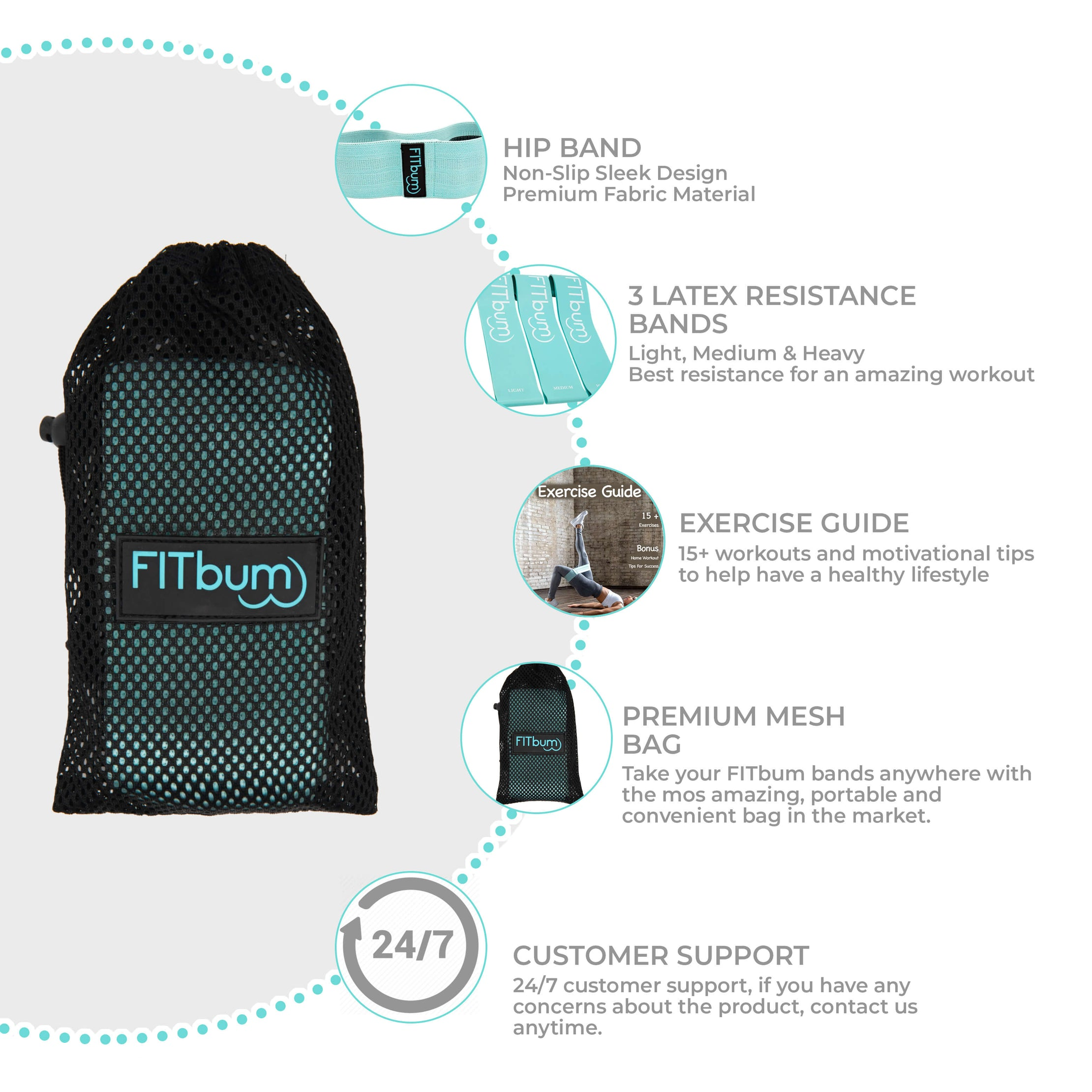 Load image into Gallery viewer, FITbum™ Band Bundle