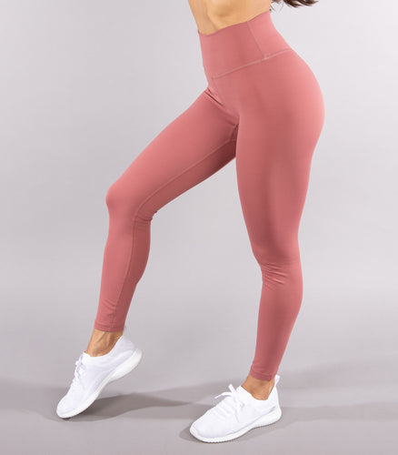 Classic Legging - Blush Wine