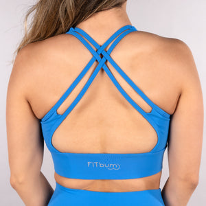 Classic Sports Bra - Royal Blue