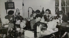 Women sewing for Whites of Kent