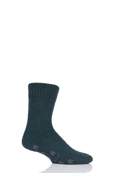 Sockshop-Mens Natural Home Slipper Socks