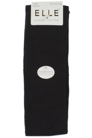 Elle-Ladies 76% Cotton Over the Knee Socks