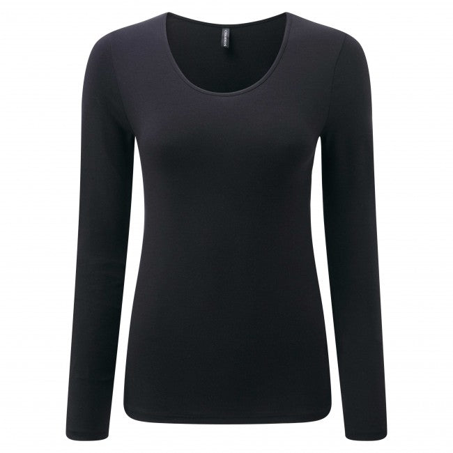 Charnos-Second Skin-Ladies Thermal Layers-Long Sleeve Top
