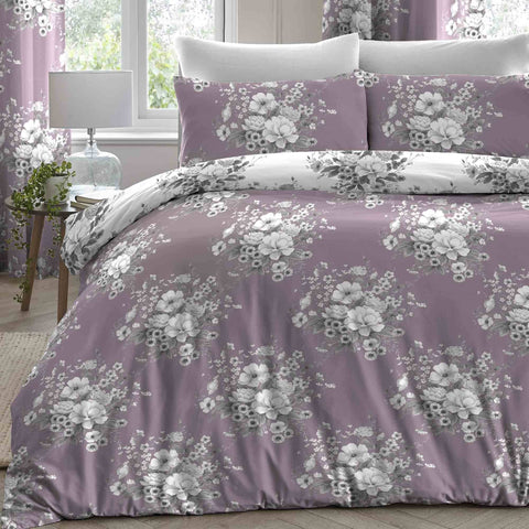 Dreams and Drapes-Mirabello-Duvet Cover in Lavender