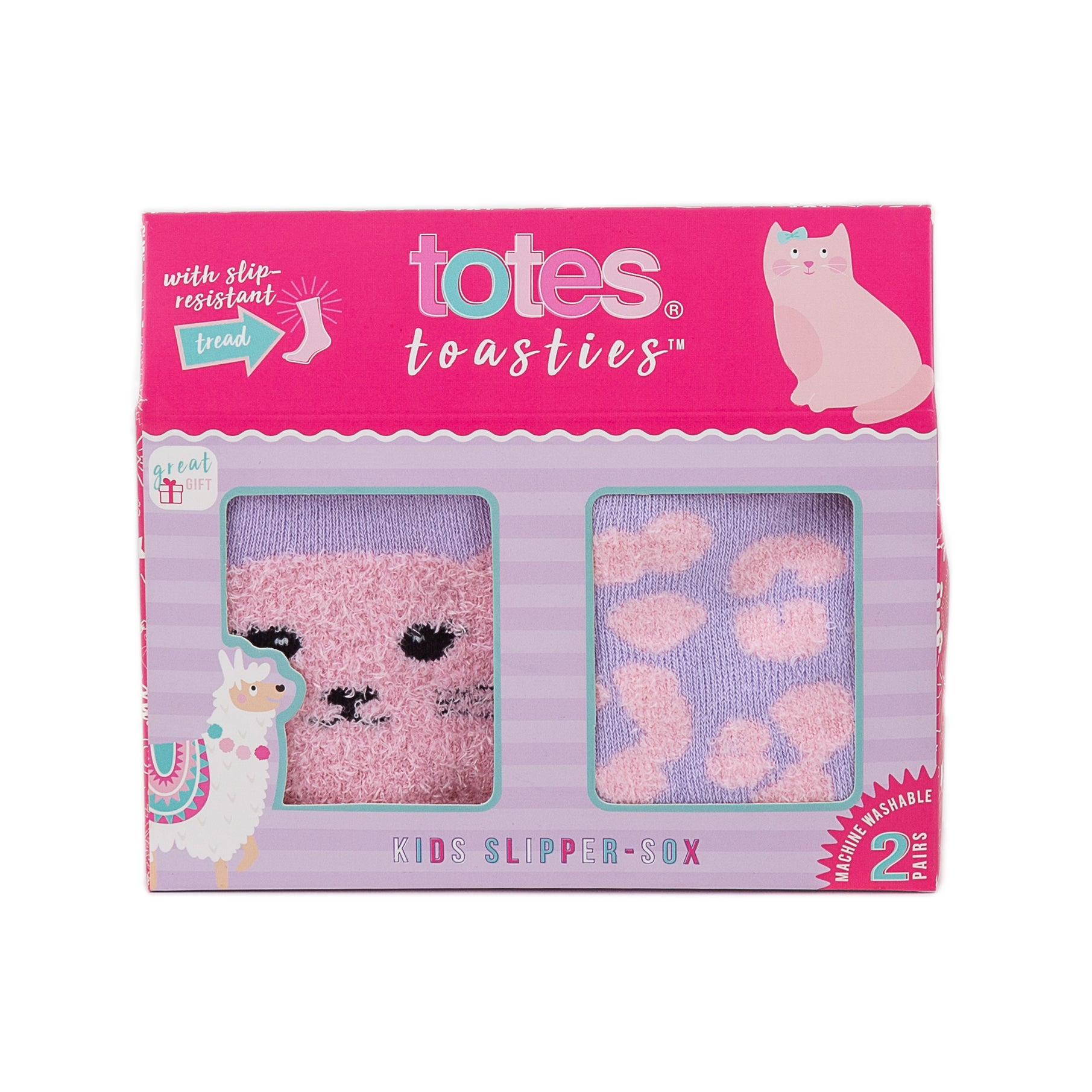 Totes Toasties-Kids Slipper Socks-Age 3-6-3328D