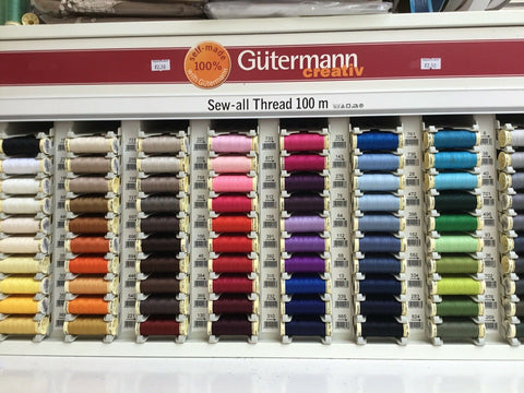 Gutermann 100m-Sew all Thread-Assorted Colours