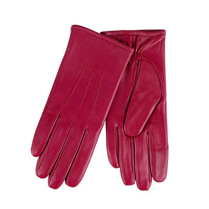 Totes Isotoner-Ladies Leather Gloves-69164