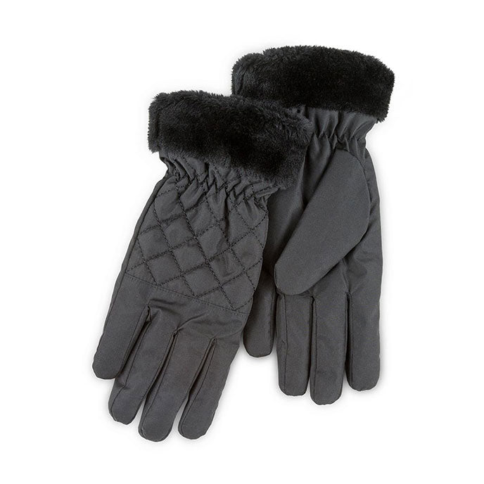 Totes Isotoner-Ladies Water Resistant Gloves-86190