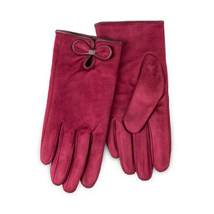 Totes Isotoner-Ladies Faux Fur Gloves-86191
