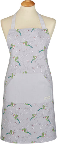 Humming Bird Apron-Organic Cotton by Cooksmart