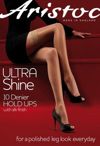 Aristoc-Ladies Ultra Shine Hold-ups-10 Denier