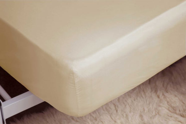 Belledorm-Single Fitted Sheet-100% Brushed Cotton