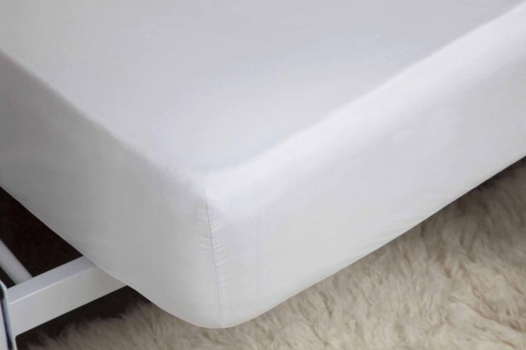 Belledorm-King Size Fitted Sheet-100% Brushed Cotton