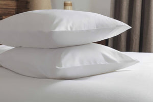 Belledorm-2 x Pillowcases-100% Brushed Cotton