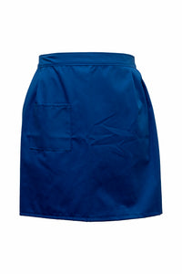 Ladies-Tie Waist Apron-Royal Blue
