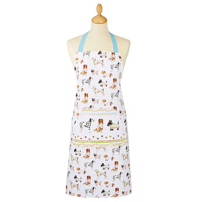 Cooksmart Apron-100% Cotton-Dogs in the Kitchen