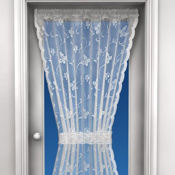 Lace Door Curtain-Amy-Net Panel