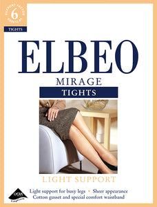 Elbeo-Mirage-Light Support Tights-15 Denier-M, L - A440