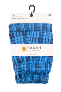 Farah-Mens Woven Boxers-2 Pair Pack-Cotton