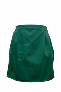 Ladies-Tie Waist Apron-Green