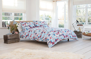 Lobster Creek-100% Cotton Duvet Cover Set-Design Harbour