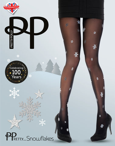 Pretty Polly-Party Snowflake Tights