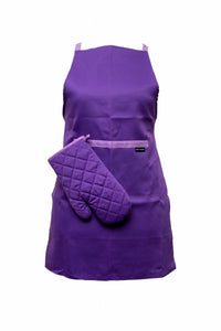 Oven Mitt-Single Glove-Purple