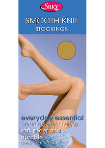 Silky-Ladies Smooth Knit Stockings