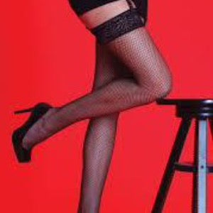 Silky-Ladies Fishnet Stockings by Scarlett