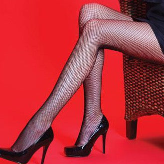 Silky-Ladies Fishnet Tights