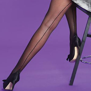 Silky-Ladies Seamed Tights