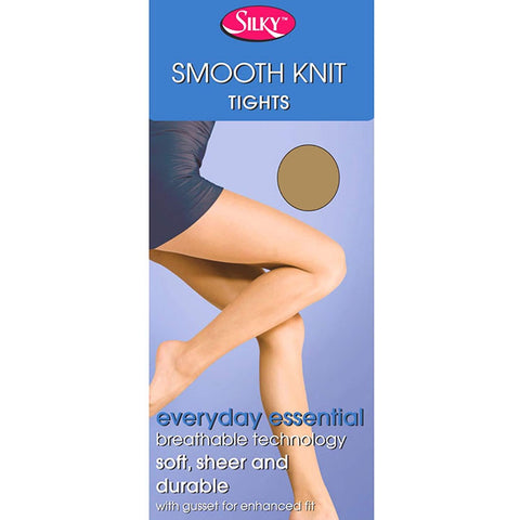 Silky-Ladies Smooth Knit Tights-15 Denier