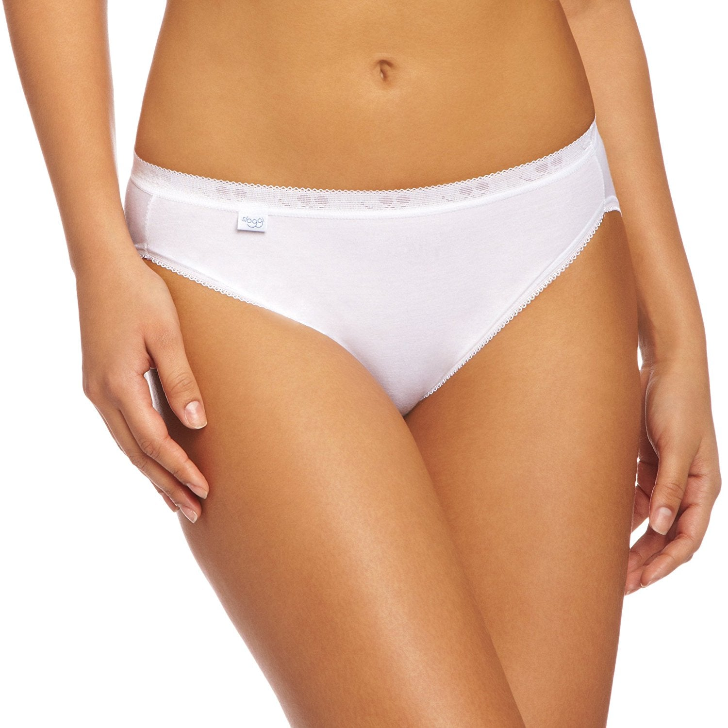 Sloggi Basic Tai-Ladies 95% Cotton Briefs-3 Pair Pack