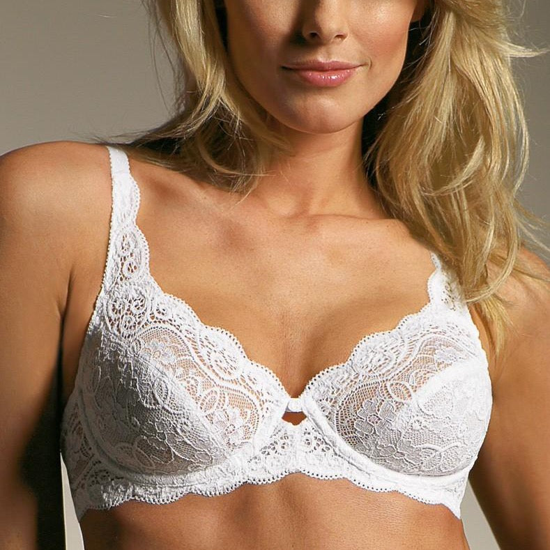 Triumph-Amourette 300W-Ladies Underwired Bra-White
