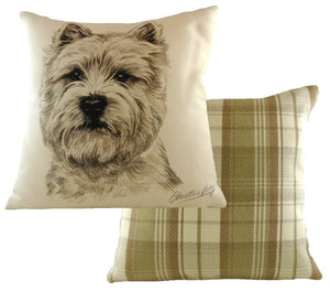 Westie-Cushion Cover-43 x 43cm