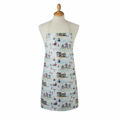 Apron-100% Cotton with PVC Coating-Wipe Clean-Beside the Sea