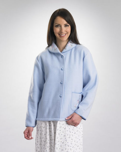 Ladies Bedjacket-Cosy with Button Front-BJ44601
