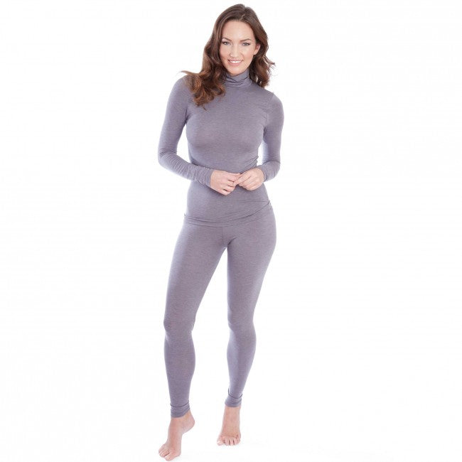 Charnos-Second Skin-Ladies Thermal Layers-Roll Neck Top