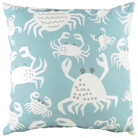 Cushion Cover-Crab-Blue-43cm x 43cm