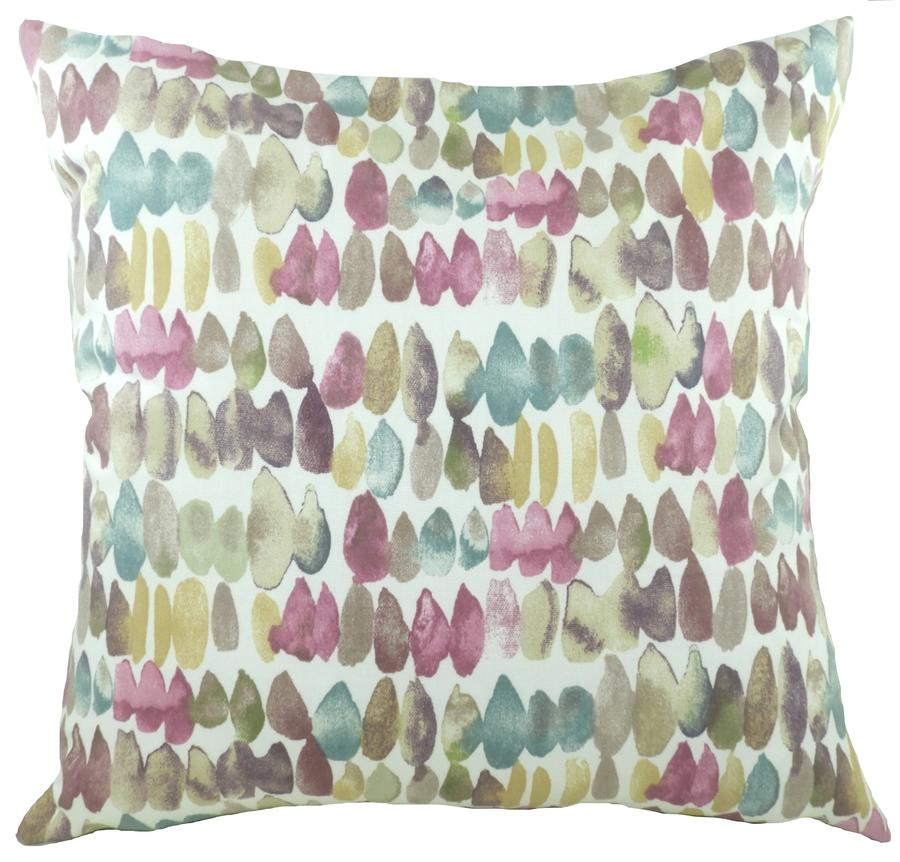 Cushion Cover-Eclectic Dash Violet-100% Cotton