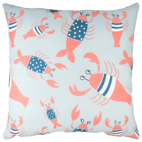 Cushion Cover-Lobster Blue-43cm x 43cm