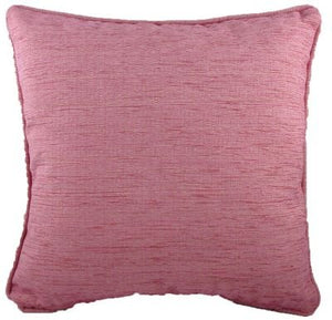 Cushion Covers-Chenille-Savannah Range-43cm x 43cm-Pink Colour