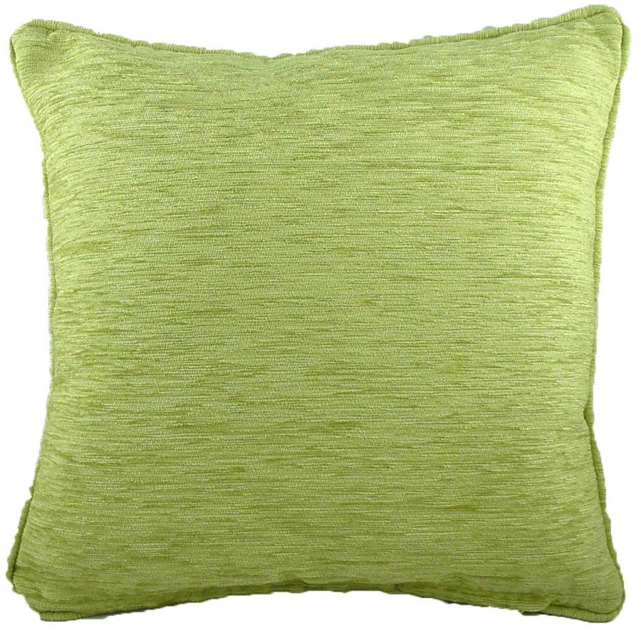 Cushion Covers-Chenille-Savannah Range-43cm x 43cm-Green Salad Colour