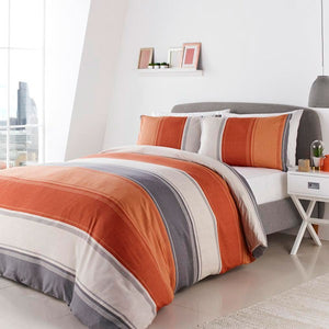 Betley-Duvet Cover Set in Spice-Reversible