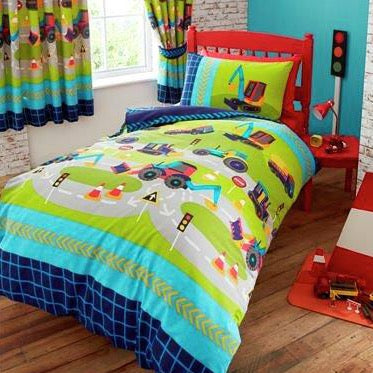 Kids Duvet Cover-New Diggers