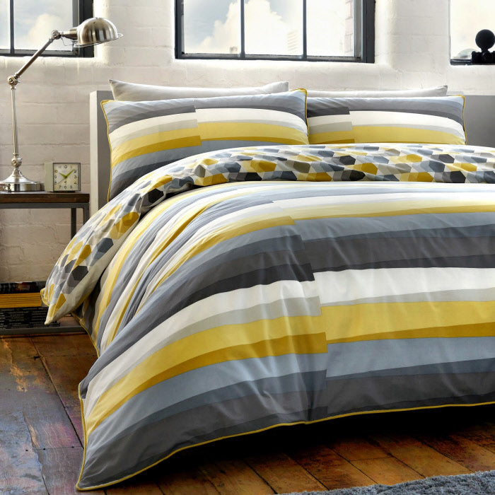 Duvet Cover-Flint by Racing Green